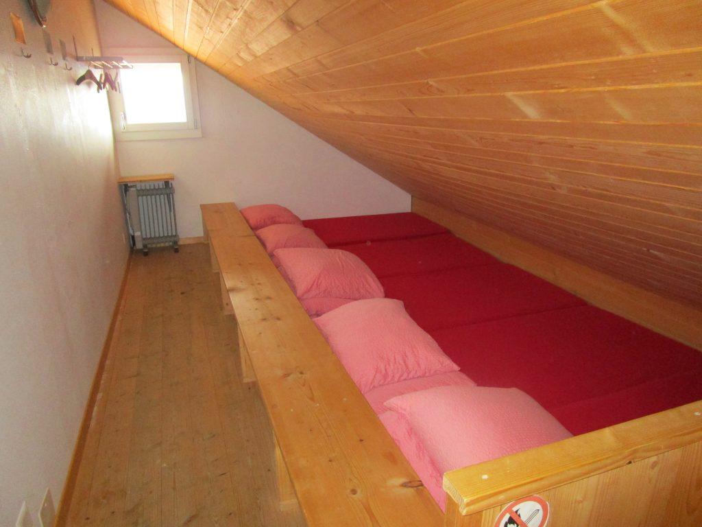 Pilgerlager mit 5 Betten